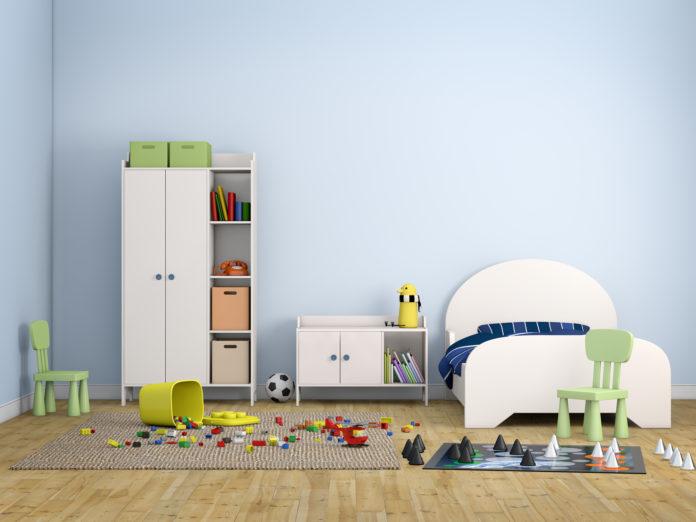 Børneværelse i hjemmet