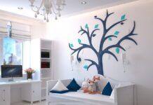 flot indretning af et børneværelse