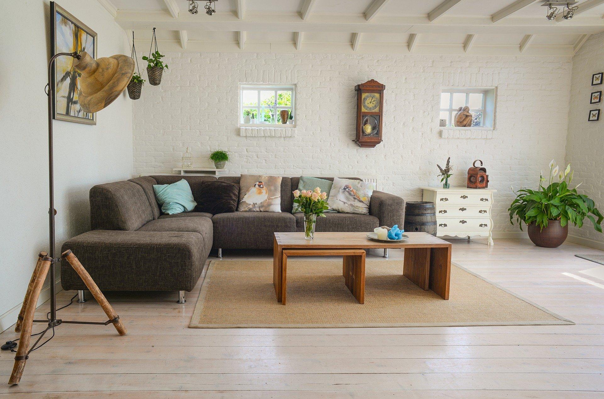 en hyggelig stue